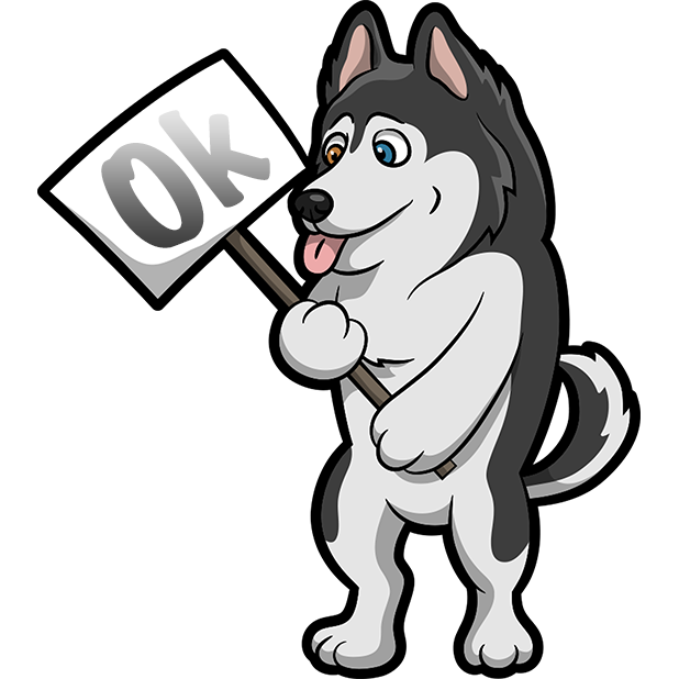 My HuskyMoji Dog Stickers messages sticker-1