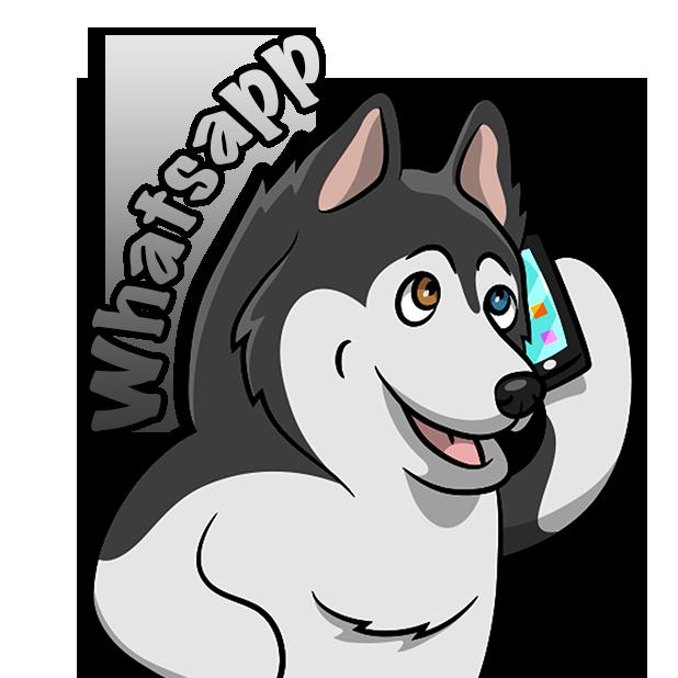 My HuskyMoji Dog Stickers messages sticker-5