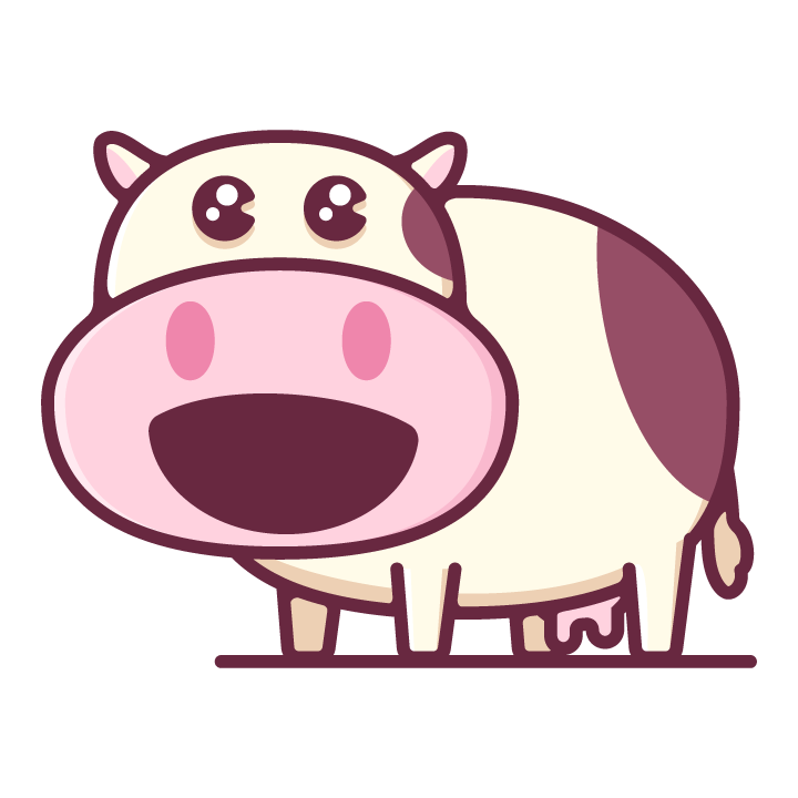Moody Cow messages sticker-7