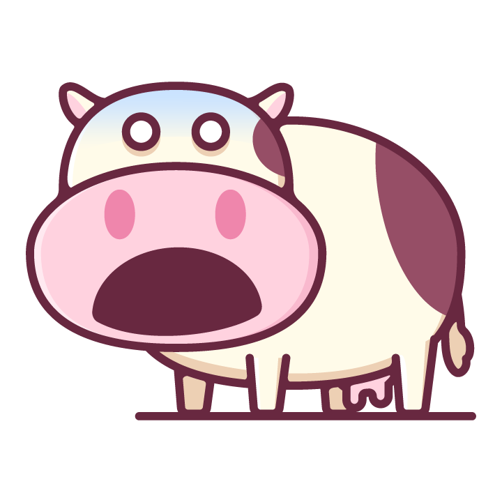 Moody Cow messages sticker-9