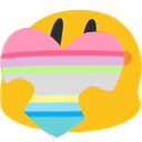 PrideHeartBlobs messages sticker-6