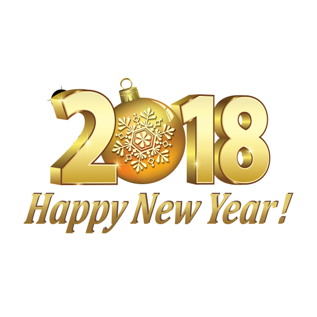 Happy New Year Stickers 2018 messages sticker-0