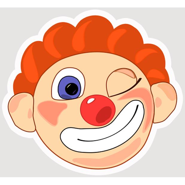 Clown Joy messages sticker-3