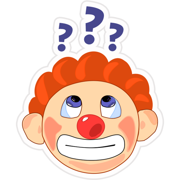 Clown Joy messages sticker-9