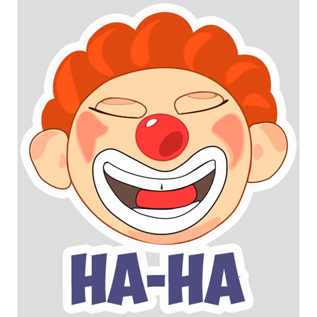 Clown Joy messages sticker-1