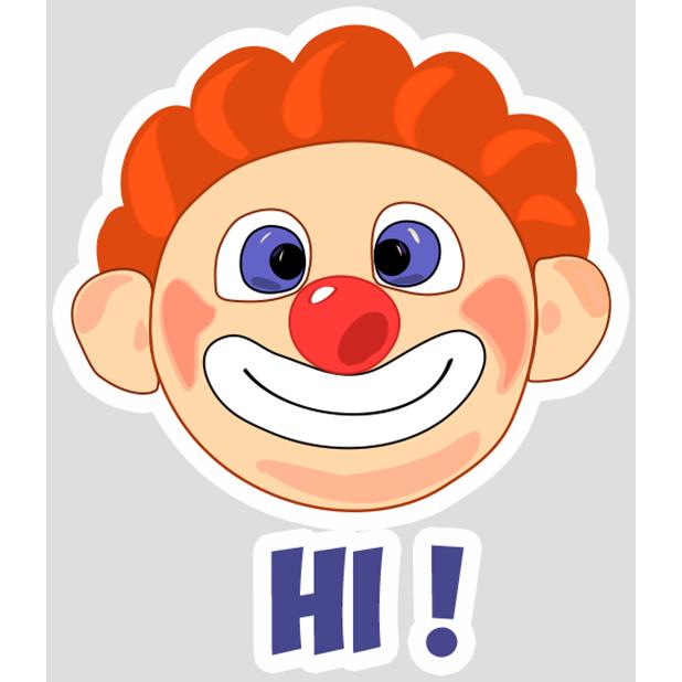 Clown Joy messages sticker-0