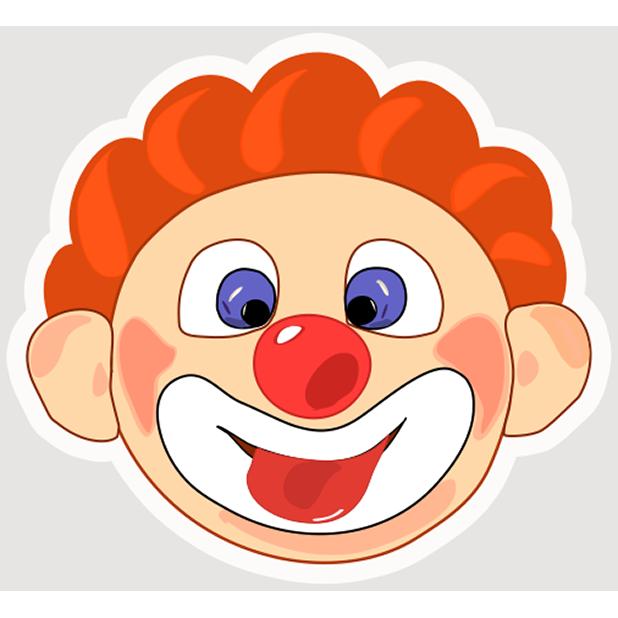 Clown Joy messages sticker-2