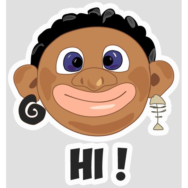 Ethiopian Aborigen messages sticker-1