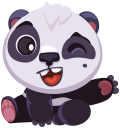 pandaSTiK sticker for iMessage messages sticker-0
