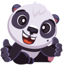 pandaSTiK sticker for iMessage messages sticker-3