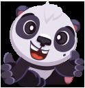 pandaSTiK sticker for iMessage messages sticker-3