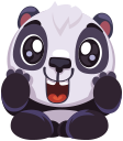 pandaSTiK sticker for iMessage messages sticker-4