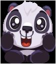 pandaSTiK sticker for iMessage messages sticker-4