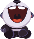 pandaSTiK sticker for iMessage messages sticker-8