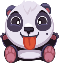 pandaSTiK sticker for iMessage messages sticker-1