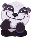 pandaSTiK sticker for iMessage messages sticker-9