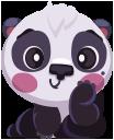 pandaSTiK sticker for iMessage messages sticker-5