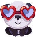 pandaSTiK sticker for iMessage messages sticker-6