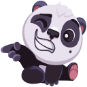 pandaSTiK sticker for iMessage messages sticker-2