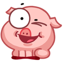 pigSTiK stickers for iMessage messages sticker-8