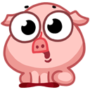 pigSTiK stickers for iMessage messages sticker-9