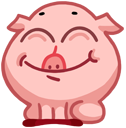 pigSTiK stickers for iMessage messages sticker-11