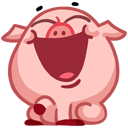 pigSTiK stickers for iMessage messages sticker-1