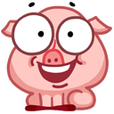 pigSTiK stickers for iMessage messages sticker-0