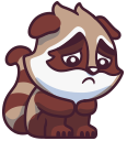 raccoonSTiK stickers iMessage messages sticker-8