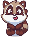 raccoonSTiK stickers iMessage messages sticker-2
