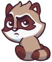 raccoonSTiK stickers iMessage messages sticker-10