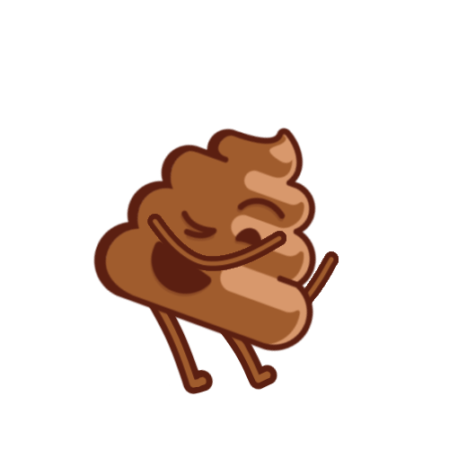 Thrusty Poop messages sticker-0