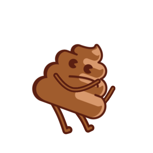 Thrusty Poop messages sticker-2