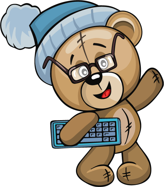 Huge Teddy Bear messages sticker-10