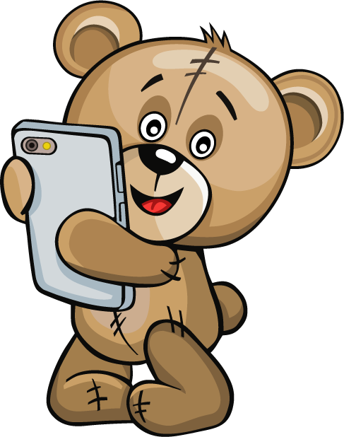 Huge Teddy Bear messages sticker-11