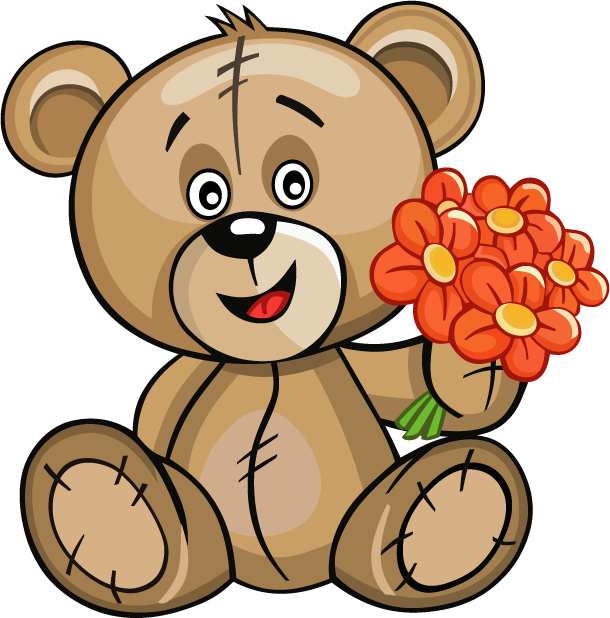 Huge Teddy Bear messages sticker-3