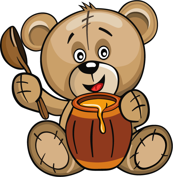 Huge Teddy Bear messages sticker-6