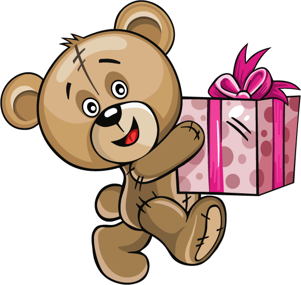 Huge Teddy Bear messages sticker-2