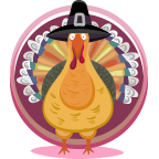 Fun Thanksgiving Sticker messages sticker-0