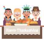 Fun Thanksgiving Sticker messages sticker-6