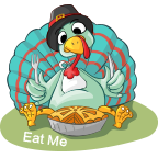 Fun Thanksgiving Sticker messages sticker-1