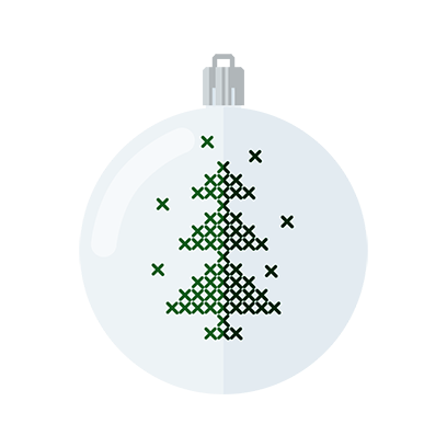 Xmas 2020 christmas tree game messages sticker-9