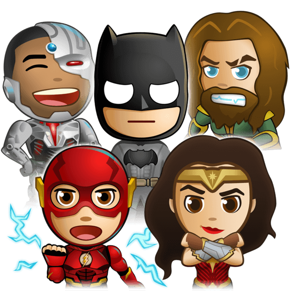 Justice League - Stickers messages sticker-9