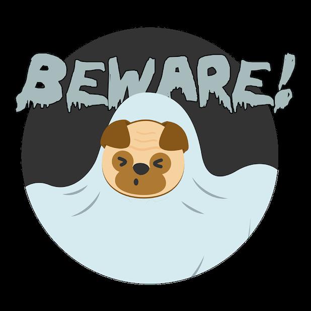 Halloween DogMOJI Stickers messages sticker-4