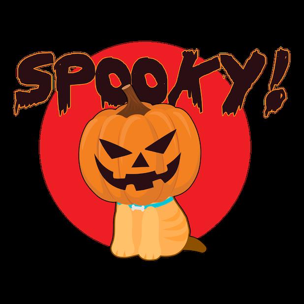 Halloween DogMOJI Stickers messages sticker-6