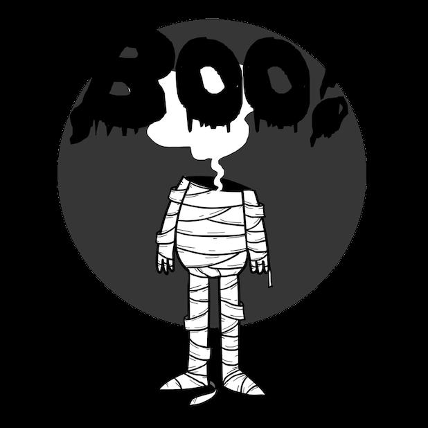 Scary HalloweenMoji Stickers messages sticker-11