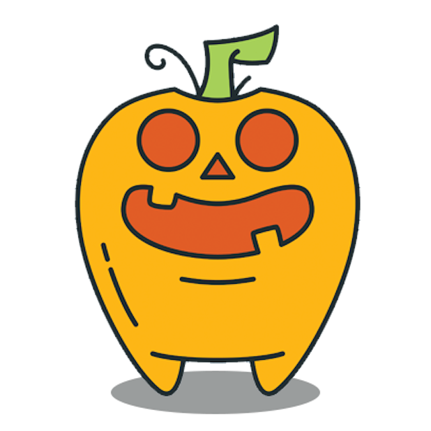 Scary HalloweenMoji Stickers messages sticker-4