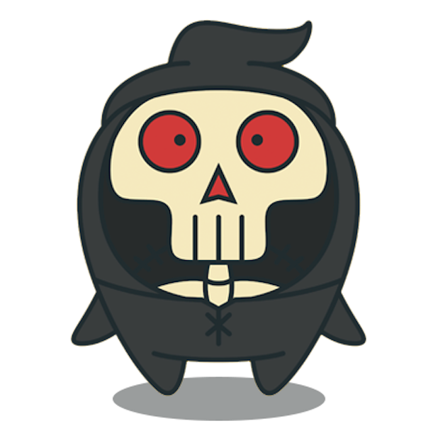 Scary HalloweenMoji Stickers messages sticker-6