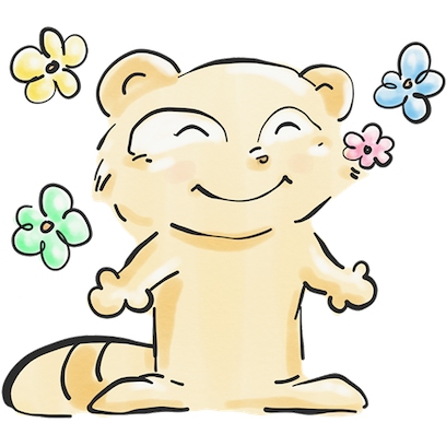 The Tanuki Twins messages sticker-7