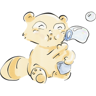 The Tanuki Twins messages sticker-2